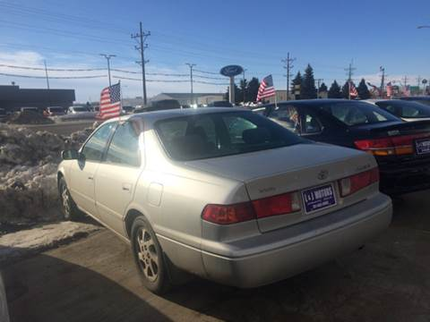 2000 Toyota Camry for sale at L & J Motors in Mandan ND