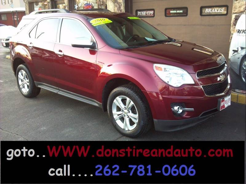 2010 Chevrolet Equinox for sale at Dons Tire & Auto in Butler WI