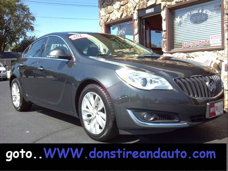 2014 Buick Regal for sale at Dons Tire & Auto in Butler WI