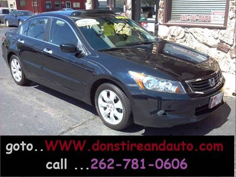 2008 Honda Accord for sale at Dons Tire & Auto in Butler WI