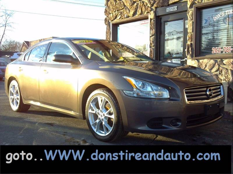 2012 Nissan Maxima for sale at Dons Tire & Auto in Butler WI