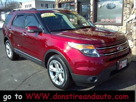 2014 Ford Explorer for sale at Dons Tire & Auto in Butler WI