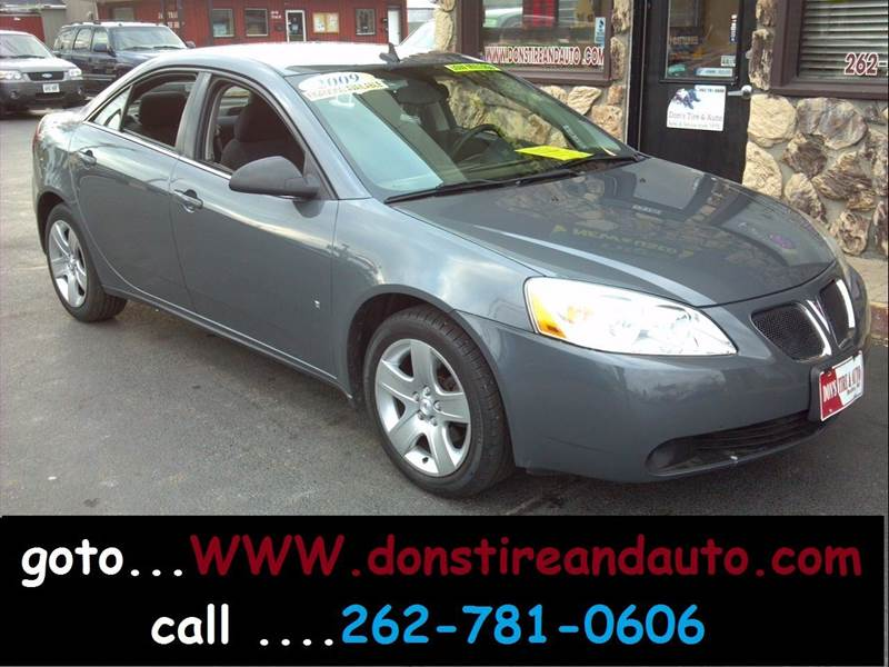 2009 Pontiac G6 for sale at Dons Tire & Auto in Butler WI