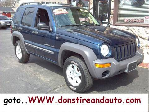 2002 Jeep Liberty for sale at Dons Tire & Auto in Butler WI