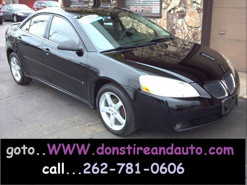2007 Pontiac G6 for sale at Dons Tire & Auto in Butler WI