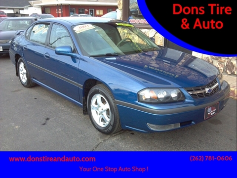 2003 Chevrolet Impala for sale in Butler, WI