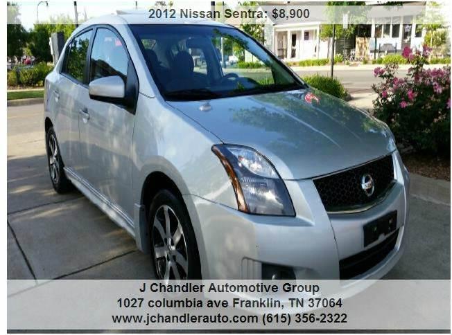 2012 Nissan Sentra 2 0 SR 4dr Sedan In Franklin TN - J