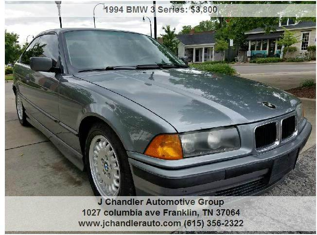1994 Bmw 3 Series 325is 2dr Coupe In Franklin TN - J Chandler ...