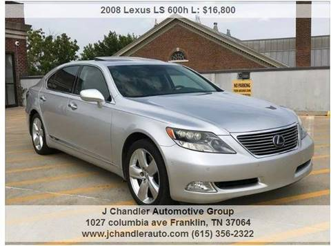 Used Lexus Ls 600h L For Sale In Cleveland Oh Carsforsale
