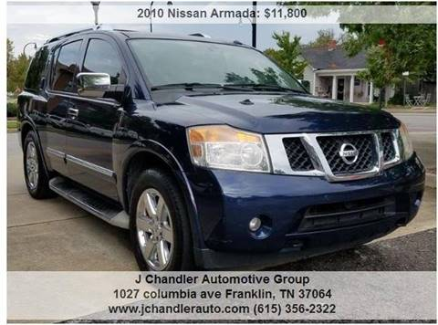 2010 Nissan Armada For Sale In Madison In Carsforsale