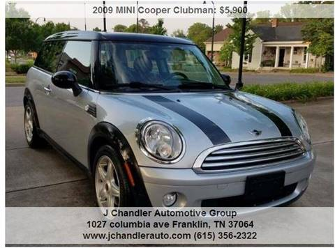 Used Mini Cooper For Sale In Tennessee Carsforsalecom