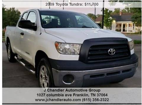 Toyota Tundra For Sale In Maine >> 2009 Toyota Tundra For Sale In Franklin Tn