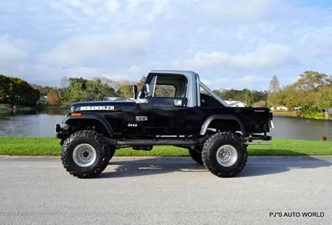 1984 Jeep Scrambler for sale in Clearwater, FL