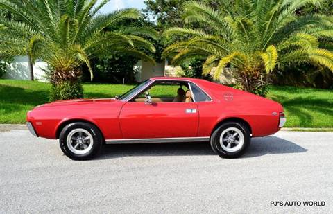 1969 AMC AMX for sale in Clearwater, FL