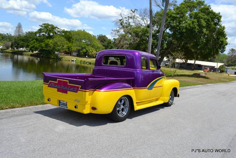 1952 chevrolet 3100 custom show in clearwater fl p js auto world contact us about this car publicscrutiny Gallery