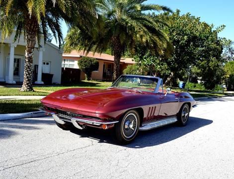 used 1966 chevrolet corvette for sale in florida. Black Bedroom Furniture Sets. Home Design Ideas