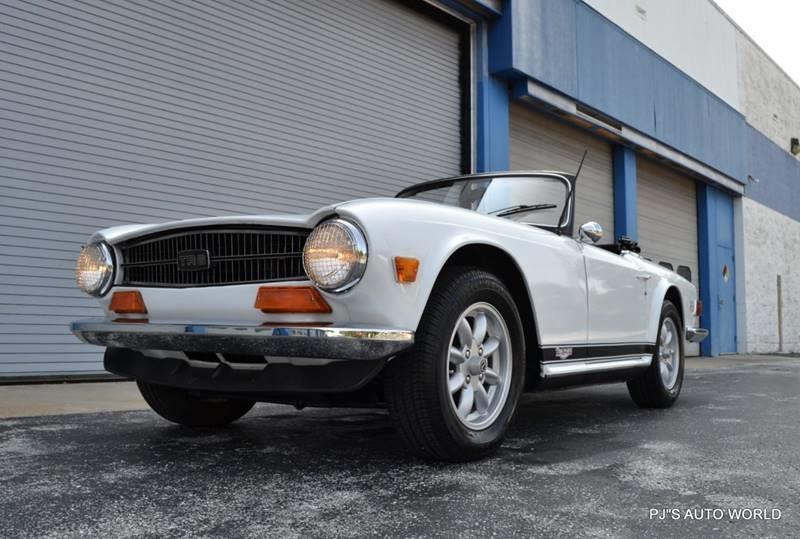 1974 Triumph TR6 17