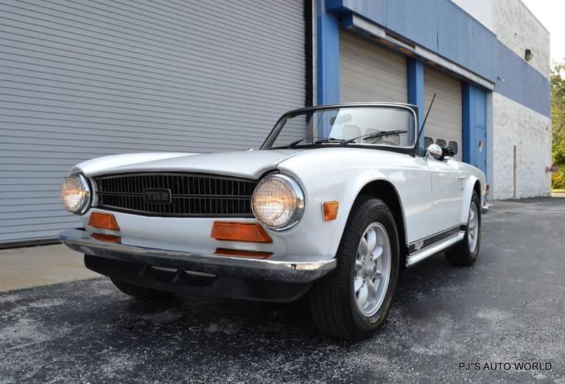 1974 Triumph TR6 18