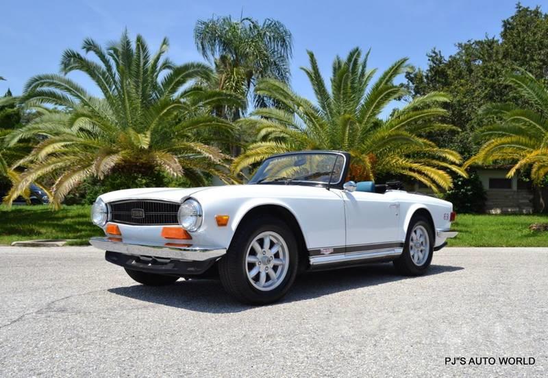 1974 Triumph TR6 13