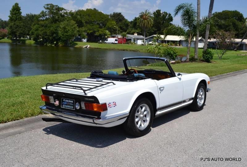 1974 Triumph TR6 6