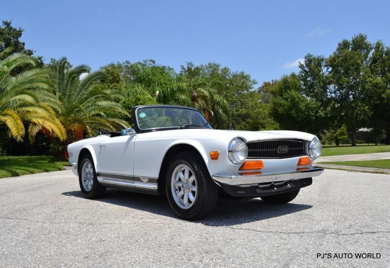 1974 Triumph TR6 12