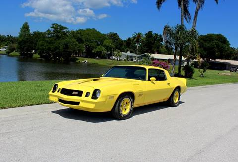 1978 Chevrolet Camaro for sale at P J'S AUTO WORLD-CLASSICS in Clearwater FL