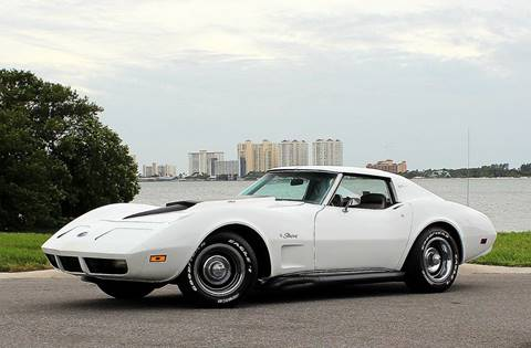 1974 Chevrolet Corvette for sale at P J'S AUTO WORLD-CLASSICS in Clearwater FL