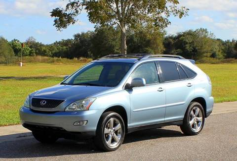 2004 Lexus RX 330 for sale at P J'S AUTO WORLD-CLASSICS in Clearwater FL