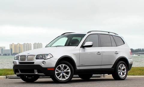 2010 BMW X3 xDrive30i for sale at P J'S AUTO WORLD-CLASSICS in Clearwater FL