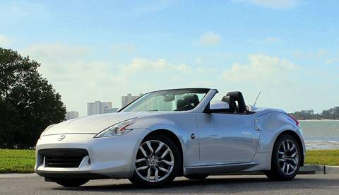 2010 Nissan 370Z Roadster for sale at P J'S AUTO WORLD-CLASSICS in Clearwater FL