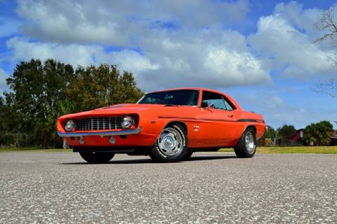 1969 Chevrolet Camaro for sale at P J'S AUTO WORLD-CLASSICS in Clearwater FL