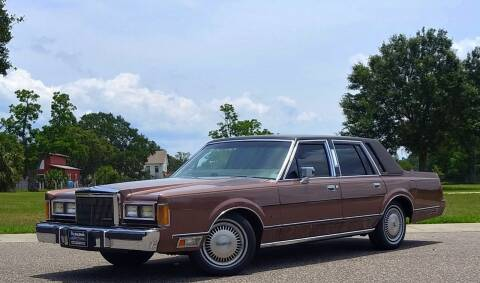 Used 1989 Lincoln Town Car For Sale In Florida Carsforsale Com