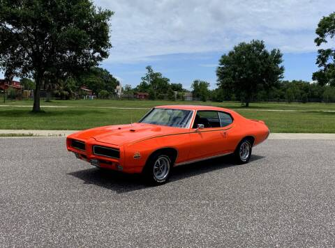 1969 Pontiac GTO for sale at P J'S AUTO WORLD-CLASSICS in Clearwater FL