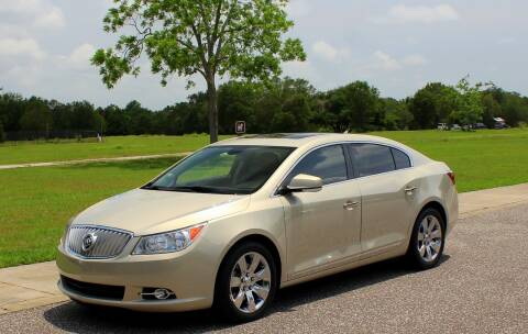 2012 Buick LaCrosse for sale at P J'S AUTO WORLD-CLASSICS in Clearwater FL