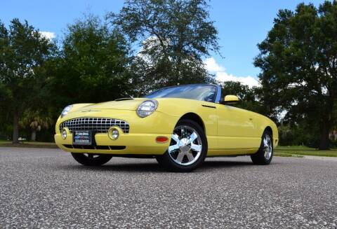 2002 Ford Thunderbird for sale at P J'S AUTO WORLD-CLASSICS in Clearwater FL