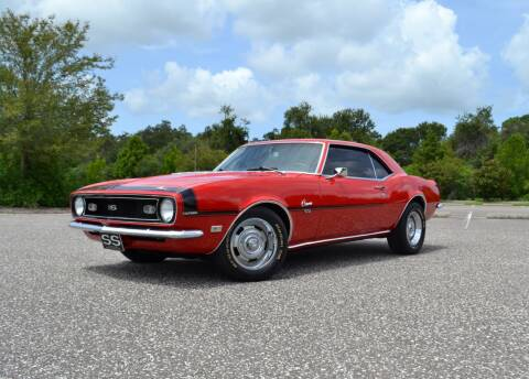 1968 Chevrolet Camaro for sale at P J'S AUTO WORLD-CLASSICS in Clearwater FL