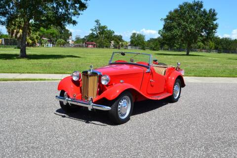1951 MG TD for sale at P J'S AUTO WORLD-CLASSICS in Clearwater FL