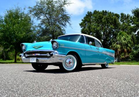 1957 Chevrolet Bel Air for sale at P J'S AUTO WORLD-CLASSICS in Clearwater FL
