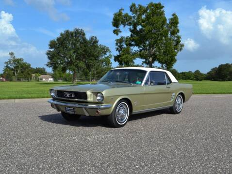 1966 Ford Mustang for sale at P J'S AUTO WORLD-CLASSICS in Clearwater FL