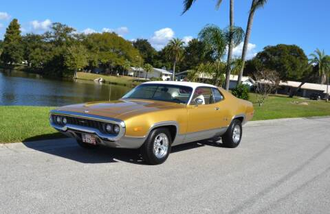 1972 Plymouth Satellite for sale at P J'S AUTO WORLD-CLASSICS in Clearwater FL