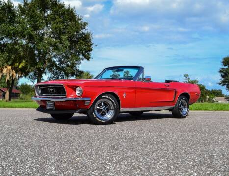 1968 Ford Mustang for sale at P J'S AUTO WORLD-CLASSICS in Clearwater FL