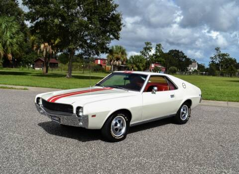 1968 AMC AMX for sale at P J'S AUTO WORLD-CLASSICS in Clearwater FL