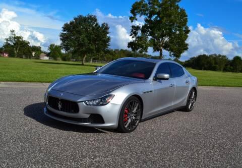 2015 Maserati Ghibli for sale at P J'S AUTO WORLD-CLASSICS in Clearwater FL