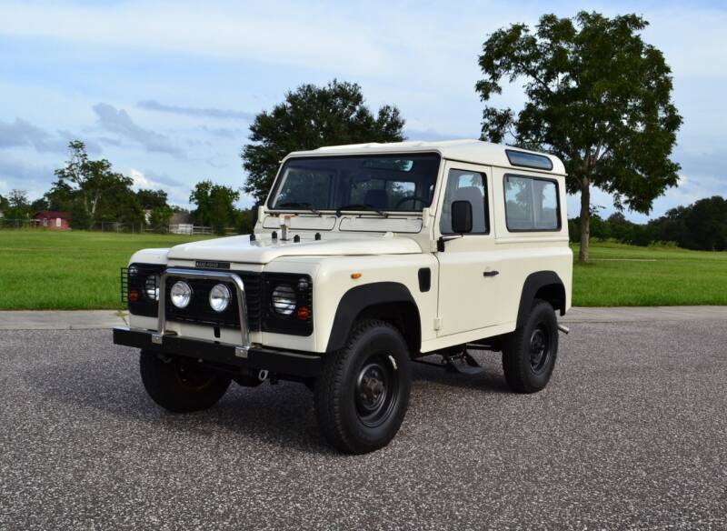1988 Land Rover Defender for sale at P J'S AUTO WORLD-CLASSICS in Clearwater FL