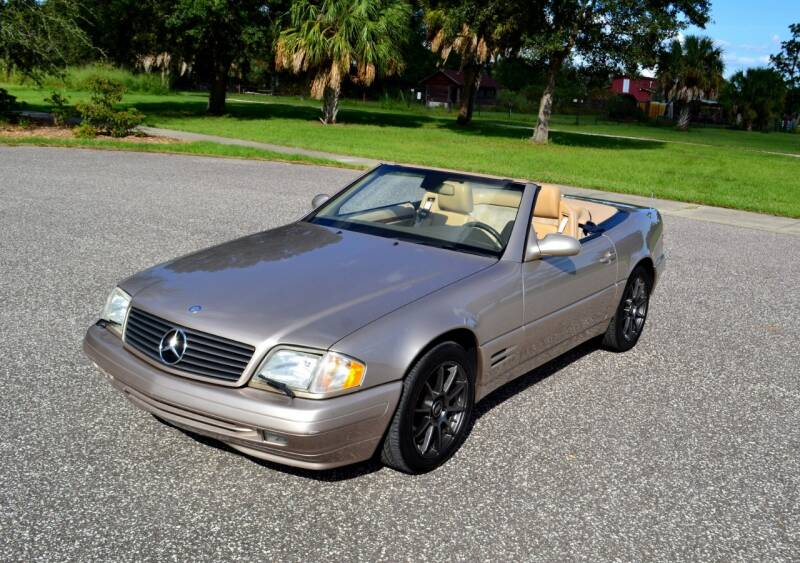 2000 Mercedes-Benz SL-Class for sale at P J'S AUTO WORLD-CLASSICS in Clearwater FL