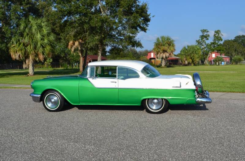 1955 Pontiac Chieftain for sale at P J'S AUTO WORLD-CLASSICS in Clearwater FL