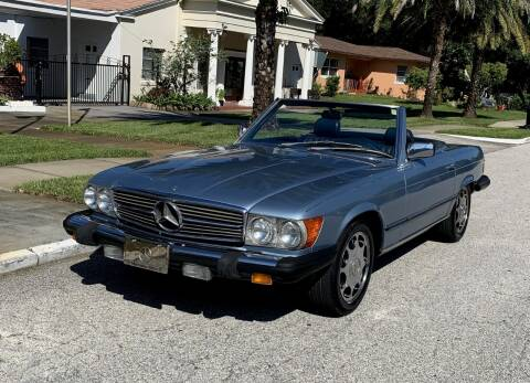 1985 Mercedes-Benz 380-Class for sale at P J'S AUTO WORLD-CLASSICS in Clearwater FL