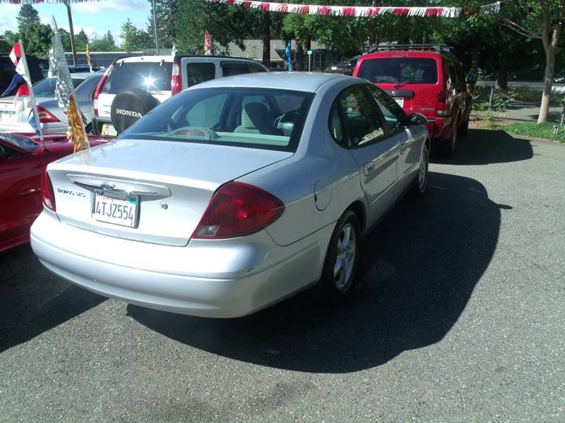 2001 Ford Taurus & Used Cars Paradise Auto Detailing Chico CA Paradise CA Once and ... markmcfarlin.com