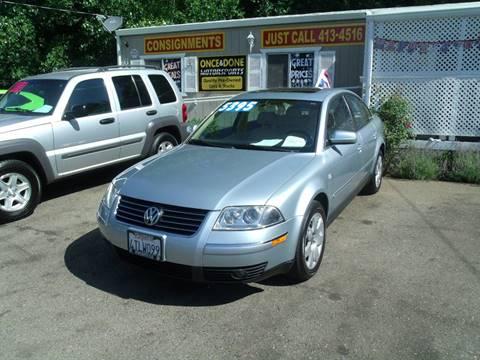 2001 Volkswagen Passat for sale in Paradise, CA
