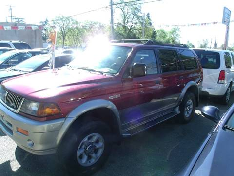 1999 Mitsubishi Montero Sport for sale in Paradise, CA